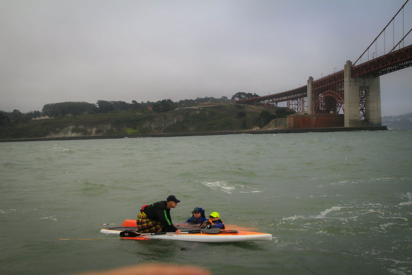 Kayaker rescued from the strong current